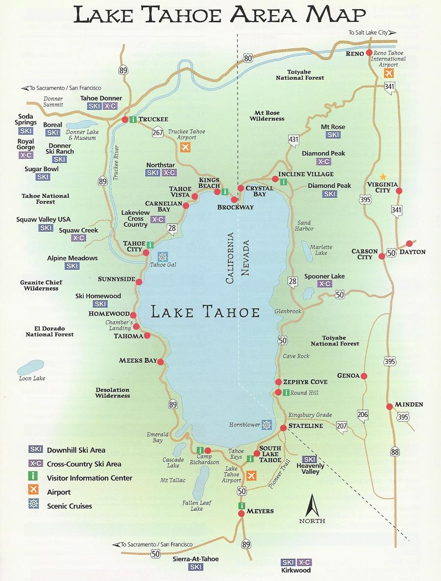 Winter Boat Tour Lake Tahoe