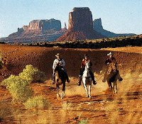 Balade à cheval à Monument Valley et Bryce Canyon National Park