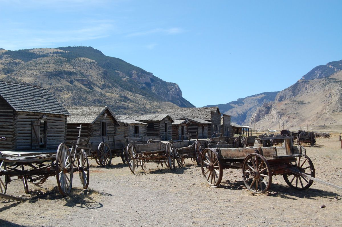 034 Cody Old trail town.JPG