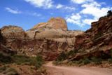 Golden Throne, vu de Capitol Gorge Road