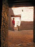 Pueblo Bonito: porte en T