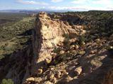 Vue de Sandstone Bluffs Overlook