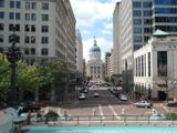 Le Capitole depuis Monument Circle