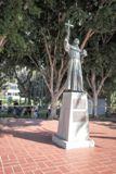 Junipero Serra, Los Angeles Plaza