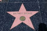 Etoile de Britney Spears sur Hollywood Blvd