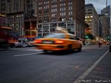 Taxi sur 8th Avenue