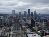 Seattle vu depuis Space Needle
