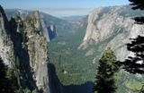 El Capitan vu de 4-mile Trail