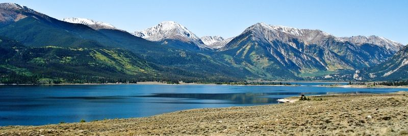 Twin Lakes et Mount Elbert