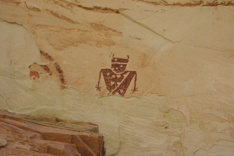 Temple Mountain Wash Pictograph Panel