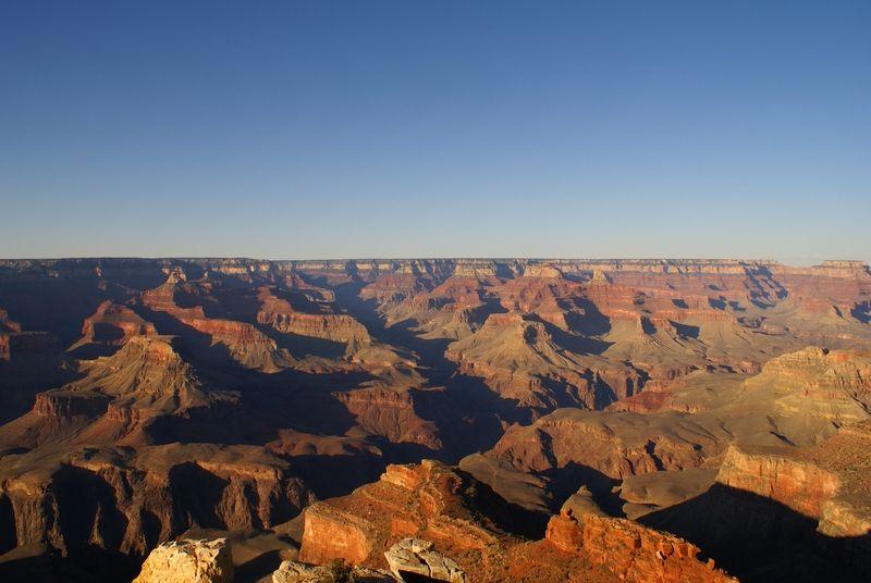 Le Grand Canyon vu de Rim Trail