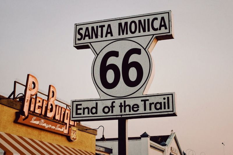 Route 66 End of Trail
