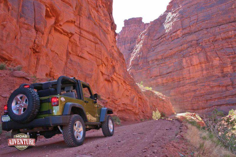 Pistes en 4x4 autour de Moab