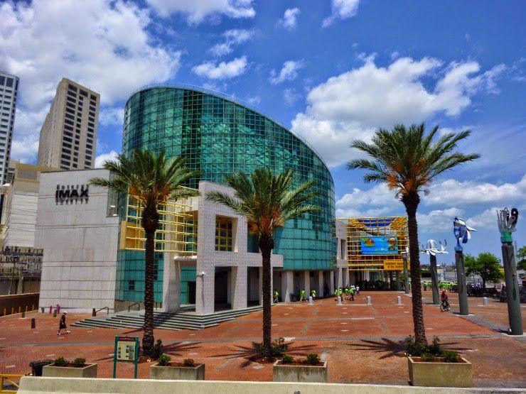Audubon Aquarium of the Americas & Entergy IMAX Theatre