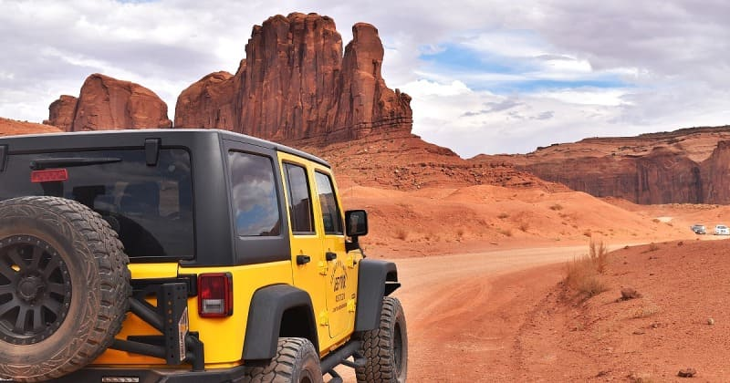 Visite guidée en 4x4 à Monument Valley