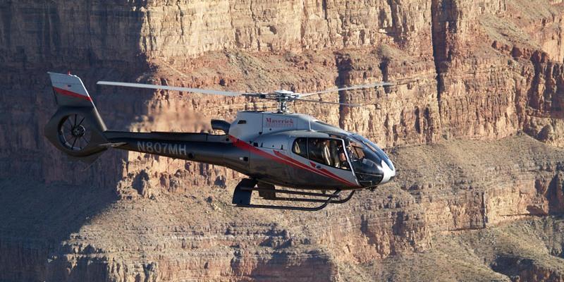 Survol du Grand Canyon en hélicoptère