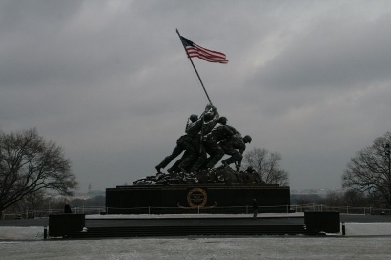 US Marine Corps War Memorial (Iwo Jima Memorial)