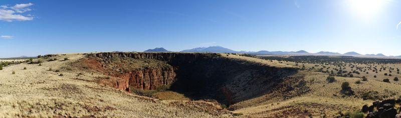 Vue de Citadel Pueblo